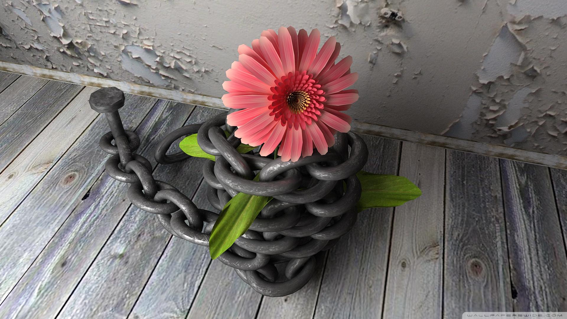 virág leláncolva