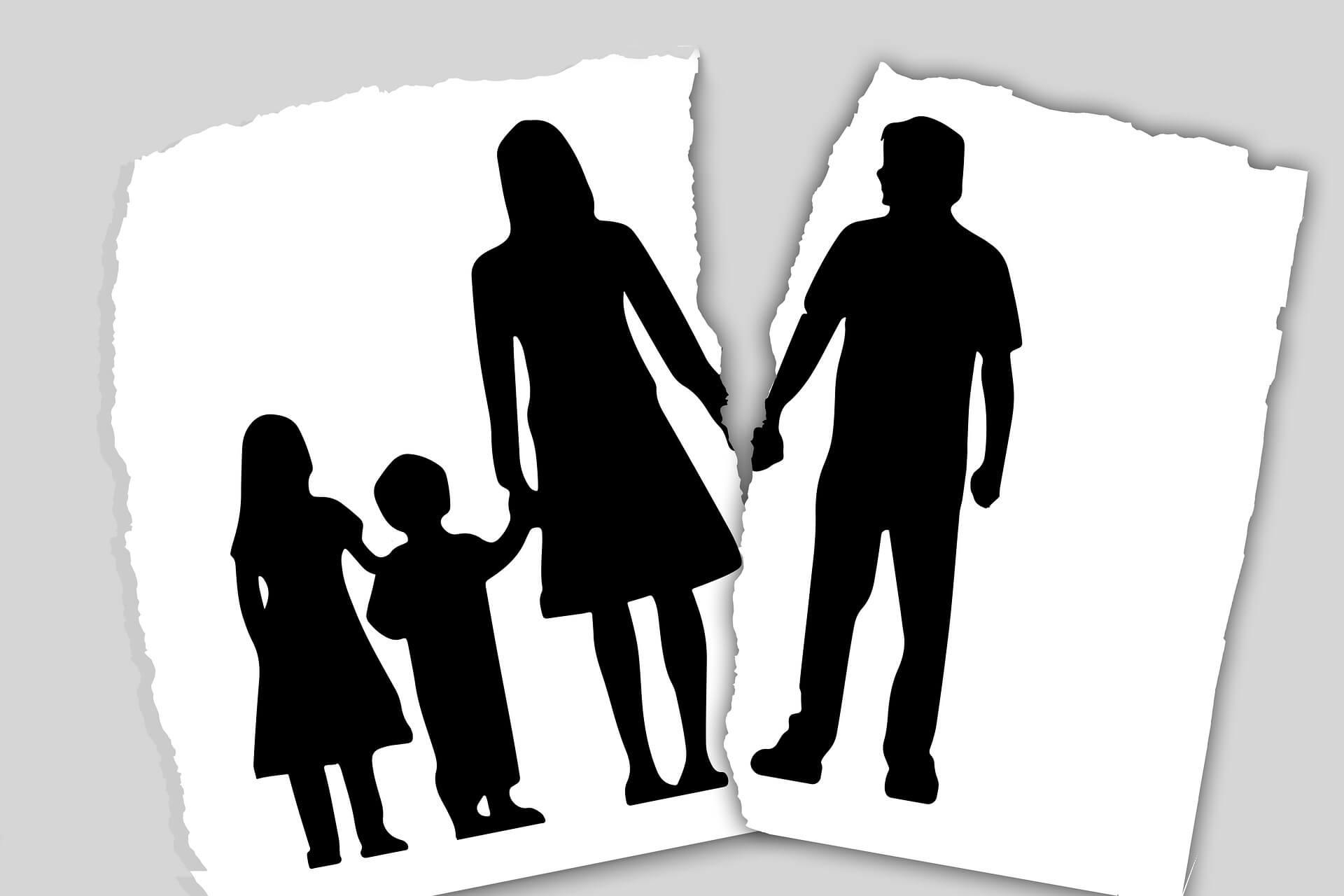 válás után